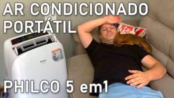 Ar Condicionado Portátil Philco 5 em 1 – 11.000 BTU