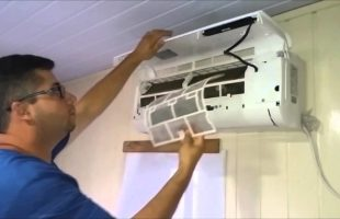 Como fazer a limpeza do filtro do ar condicionado split