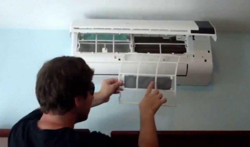 Como Limpar o Ar Condicionado – Split e motor externo!